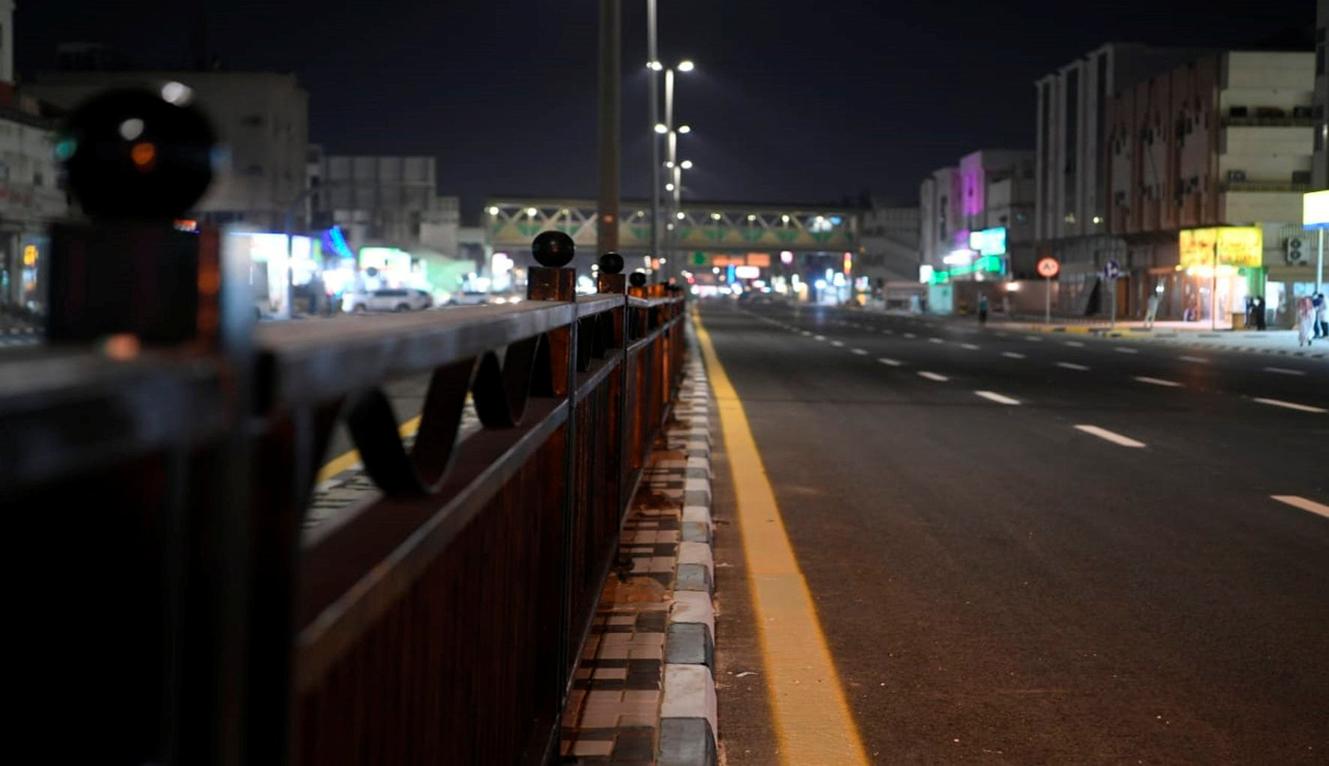 افتتاح طريق الأمير نايف بن عبدالعزيز في الدمام