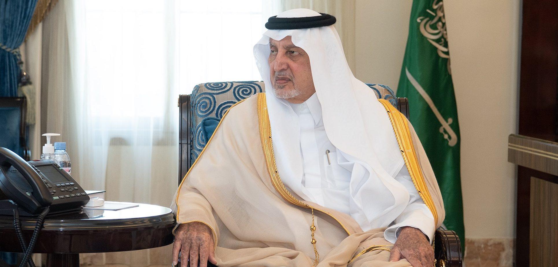 الأمير خالد الفيصل يستقبل رئيس المحكمة الجزائية في جدة